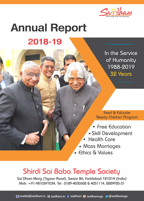 Saidham Annual Report 2018-19