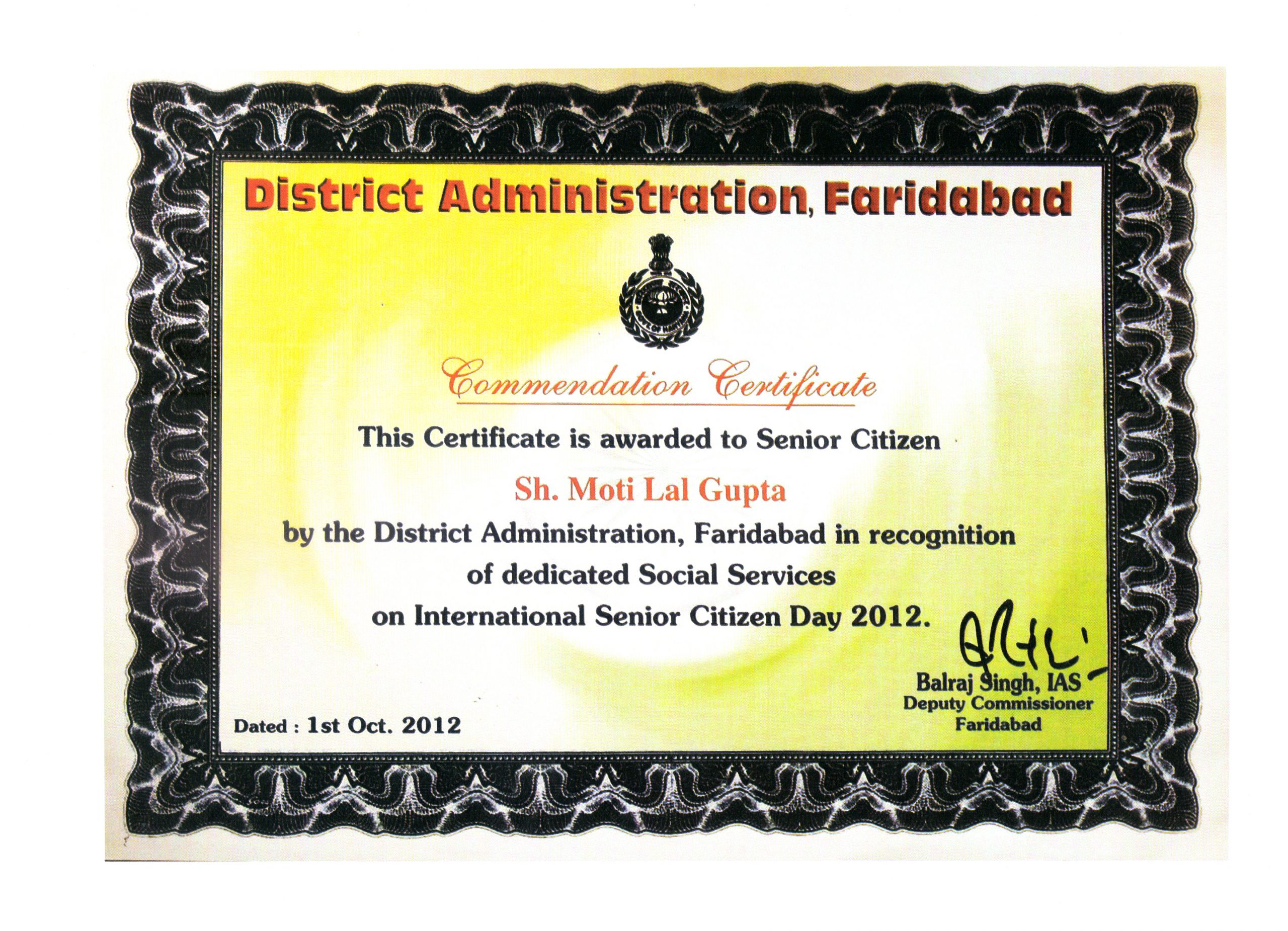 District Administration Faridabad