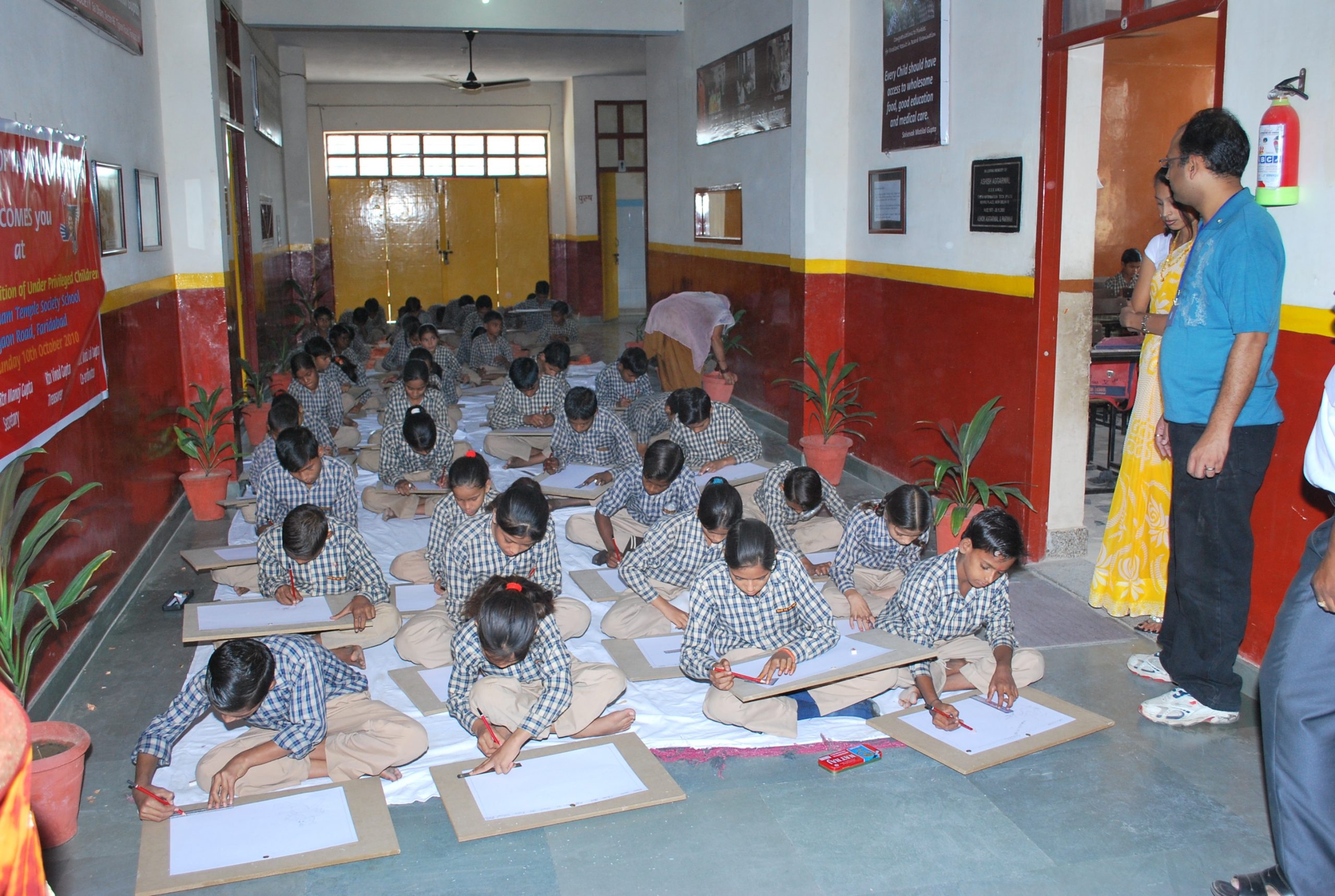 School Drawing Competition in Faridabad