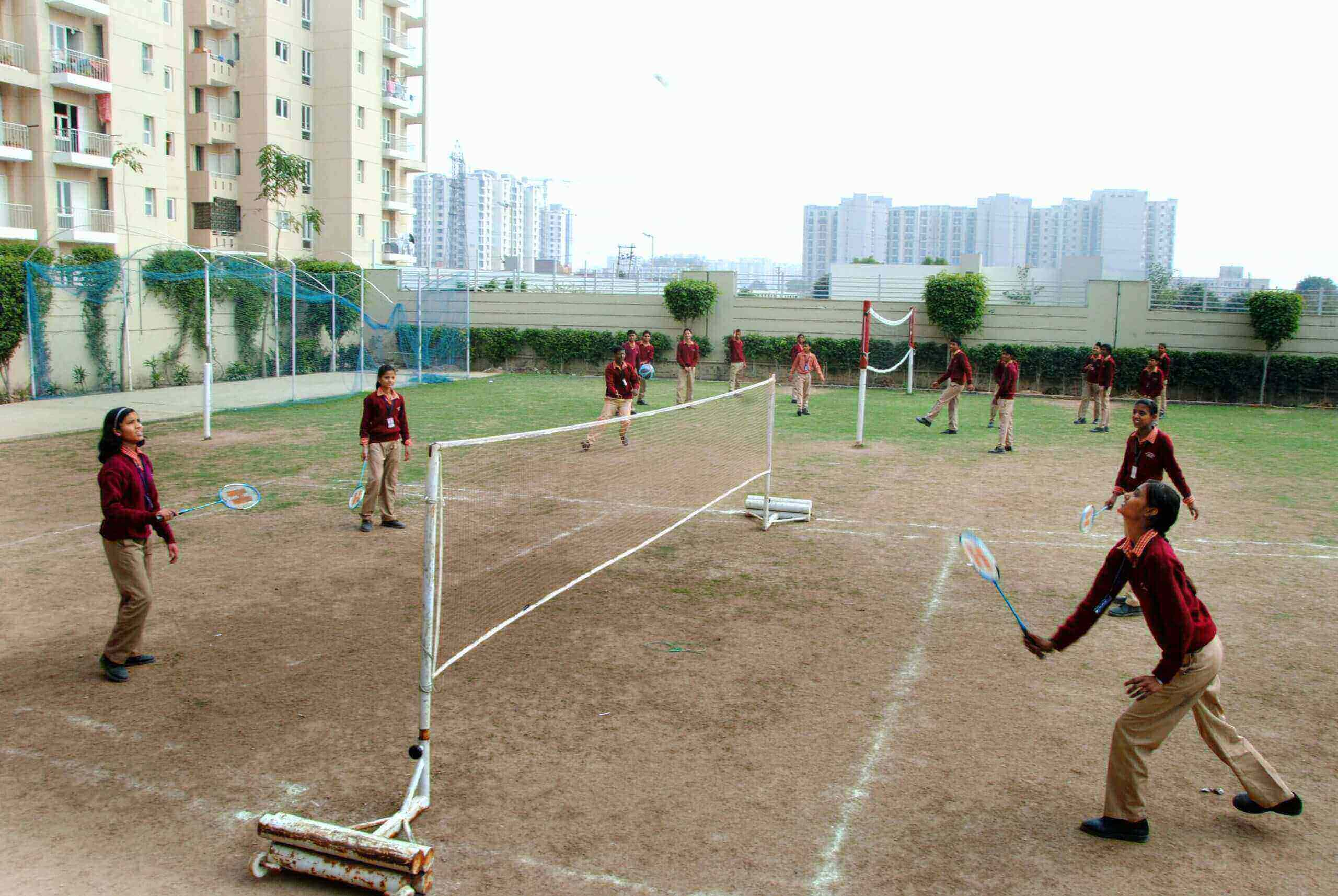 free education with sports facilities