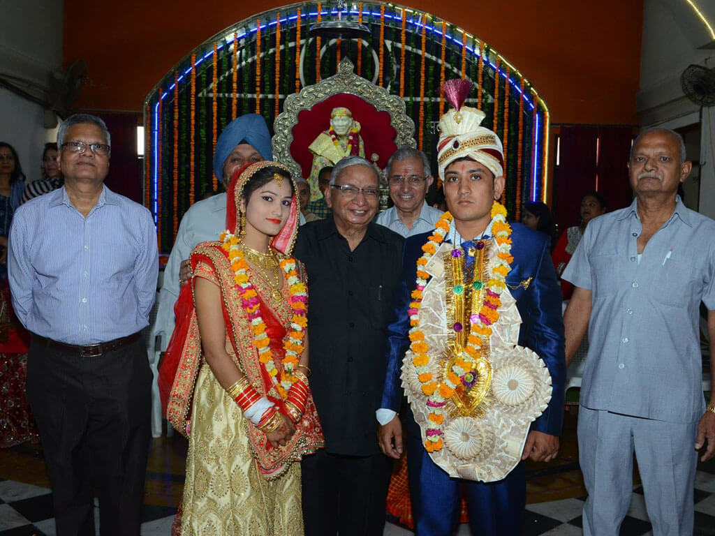 Mass Marriages couple in Faridabad