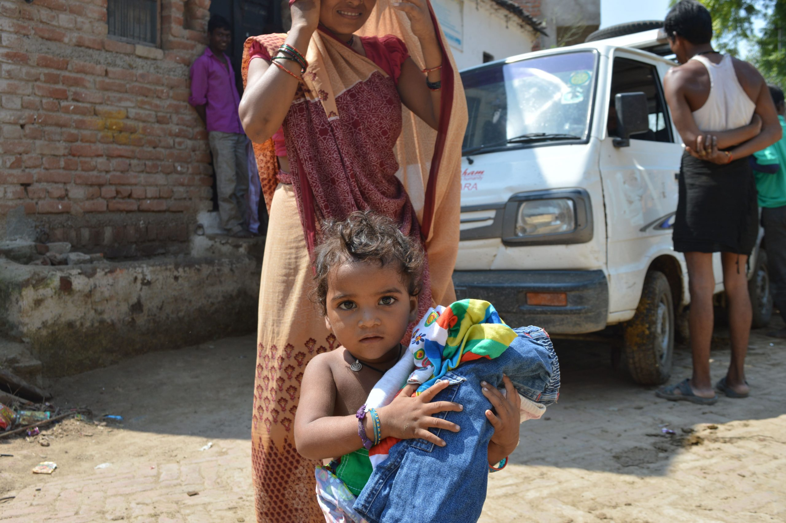 Clothes Distribution in Bundelkhand 2