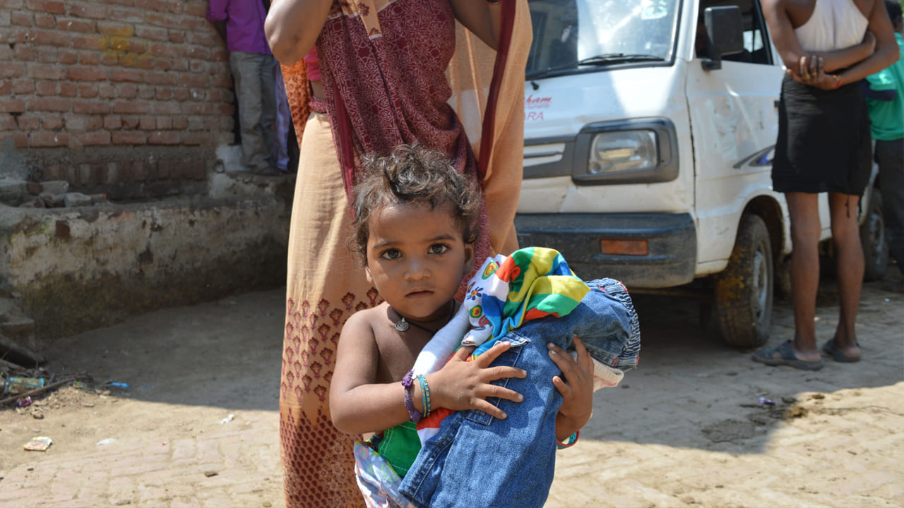 Clothes Distribution to Needy poor People