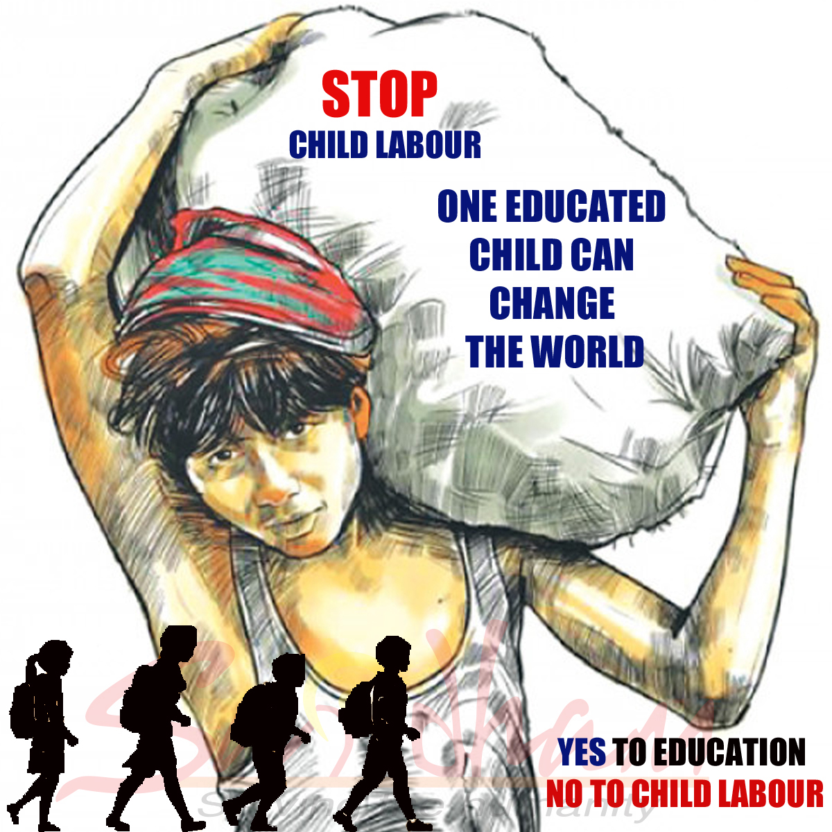 Stop Child Labour without Logo